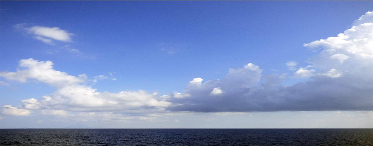 Mare e nuvole a Oslo